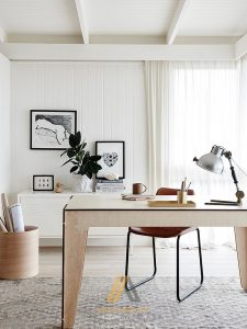 White-Scandinavian-home-office-with-a-hint-of-black